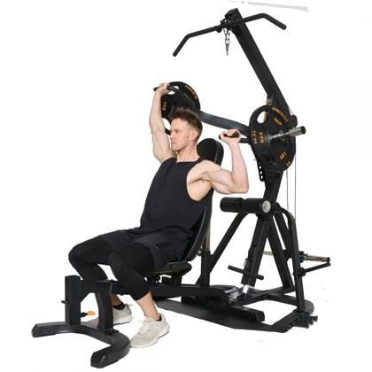 Powertec Workbench LeverGym Black +77,5 kg. Sort Ol vægtskiver