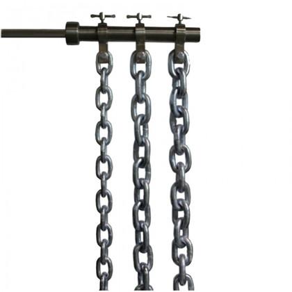 Power kæde 2x8 kg m. 50mm låse