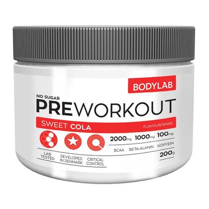 Bodylab Preworkout - 200g Sweet Cola