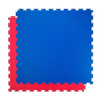Sportsbrikker 100 x 100 cm. Rød/Blå
