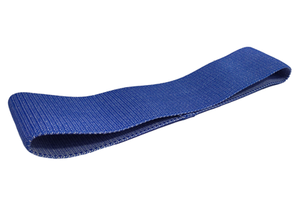 XL Tekstil Rubberband - Extrastrong - Blå