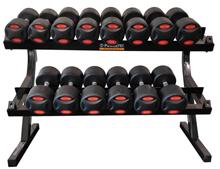 Powertec Håndvægtstativ 12-24 kg. 7 par