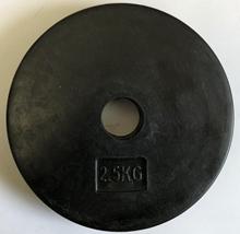 2,5 kg Vægtskive - 25 mm