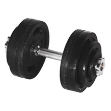 30 kg. Justerbar håndvægt - 30 mm