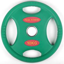 10 kg. OL Gummi Vægtskive PF