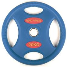 20 kg. OL Gummi Vægtskive PF