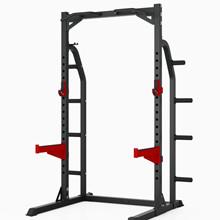 Peak Fitness Half Rack m. 98kg sort ol vægtsæt