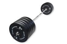 200 kg Bumper Vægtsæt - Peak Fitness