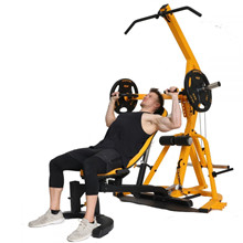 Powertec Workbench Levergym Yellow+77,5 kg PU-vægtsæt