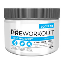 Bodylab Preworkout - 200g Blue Raspberry