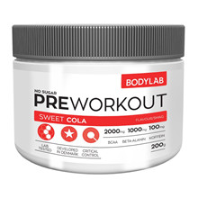 Bodylab Preworkout - 200g Sweet Cola