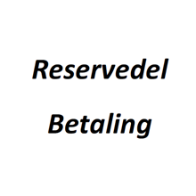 Reservedel betaling