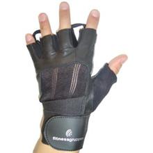 Træningshandske med håndledsstøtte str. M.