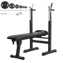 Tunturi WB20 Træningsbænk + 60kg vægtsæt
