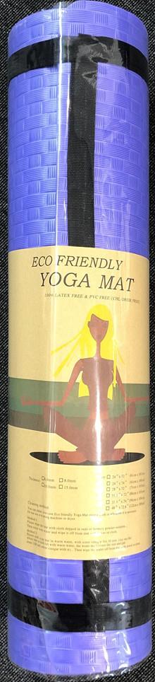 Yoga måtte - eco friendly - Lilla