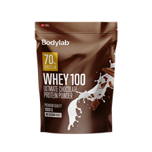 Bodylab Whey 100 Protein - 1kg Ultimate Chocolate