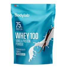 Bodylab Whey 100 Protein - 1 kg Vanilla Milkshake