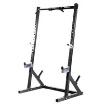 Powertec Workbench Half Rack Black WB-HR16-B