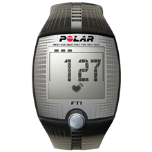 Polar FT1 Sort/Sølv