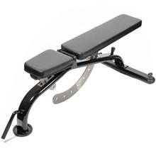 Peak Fitness Skråbænk justerbar med hjul