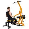 Powertec Workbench LeverGym Yellow +77,5 kg.
