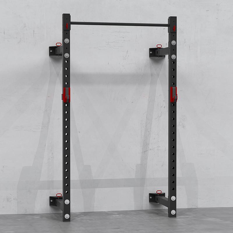 Peak Fitness Foldbart squat rack