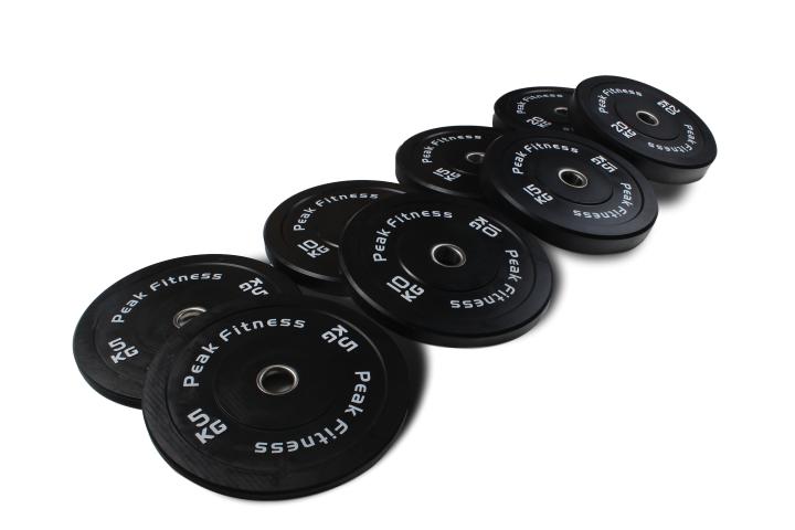 100 kg. bumper skive vægtsæt
