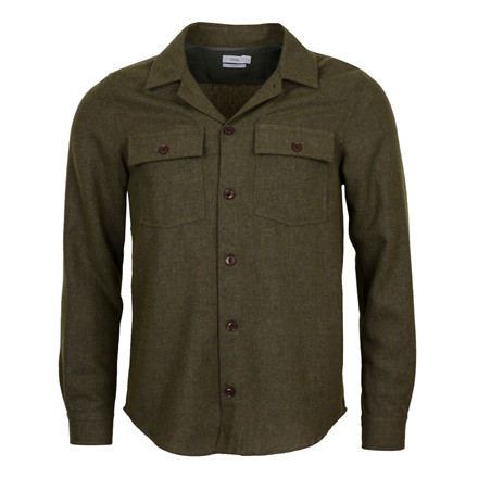 CLOSED WOOL OVER- SHIRT