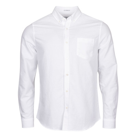 CLOSED MENS WHITE OXFORD SHIRT