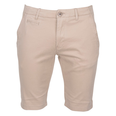 Knowledge Cotton Apparel STRECH CHINO SHORTS GRAY