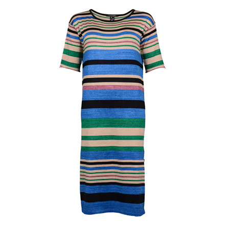 MAISON SCOTCH MIDI L. KNIT DRESS