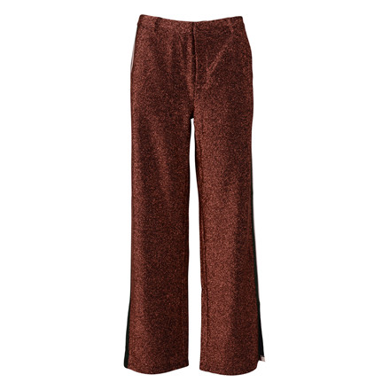 MAISON SCOTCH STRETCH LUREX PANTS