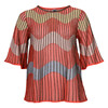 MISSONI ITALY KNIT BLOUSE S/S