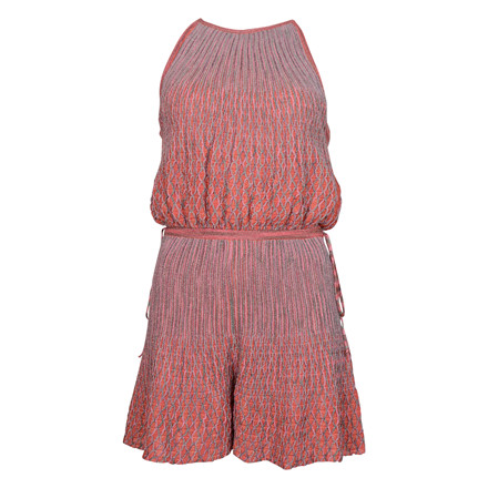 MISSONI ITALY KNIT DRESS RED