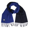 Paul Smith TWO FACED SCARF-BLUE