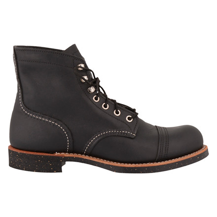 RED WING SHOES IRON RANGER 8114-BLACK