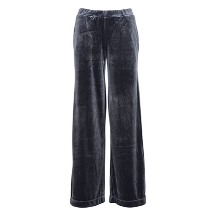 SAINT TROPEZ VELVET PANTS GREY