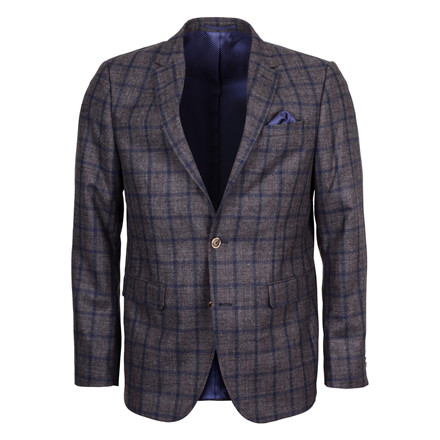 SAND STAR SOFT CHECK BLAZER