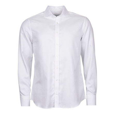 Stenströms FITTED BODY WHITE SHIRT