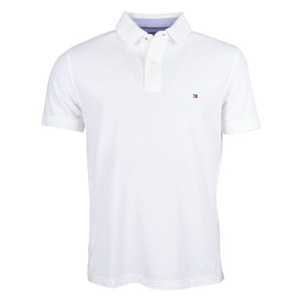Tommy Hilfiger POLO SS WHITE