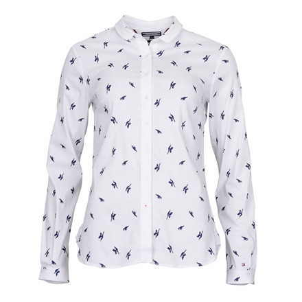 Tommy Hilfiger ANABEL SHIRT LS W BIRD