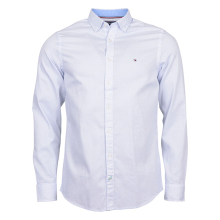 Tommy Hilfiger SLIM OPEN DOBBY SHIRT