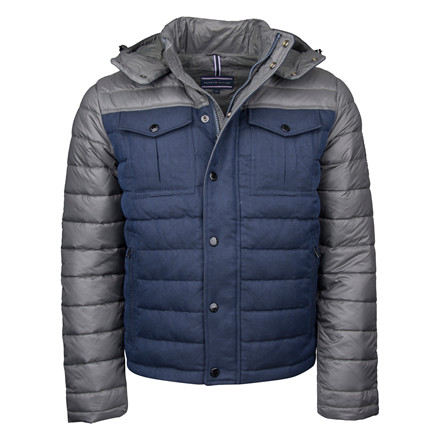 TOMMY HILFIGER MIXED DOWN BOMBER