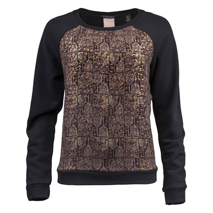 MAISON SCOTCH SWEAT WITH CANTRAST