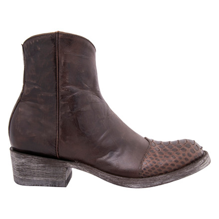 MEXICANA LIMOGES PYTHON CHOCO BOOT