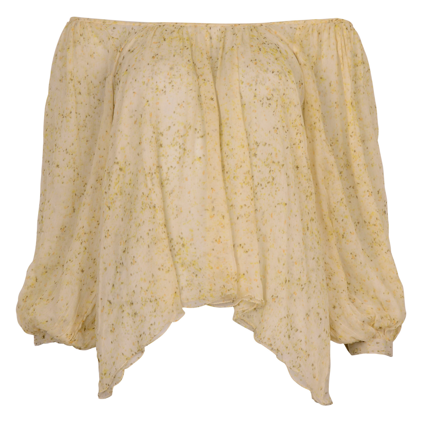 Mes Demoiselles RAVEN BLOUSE YELLOW