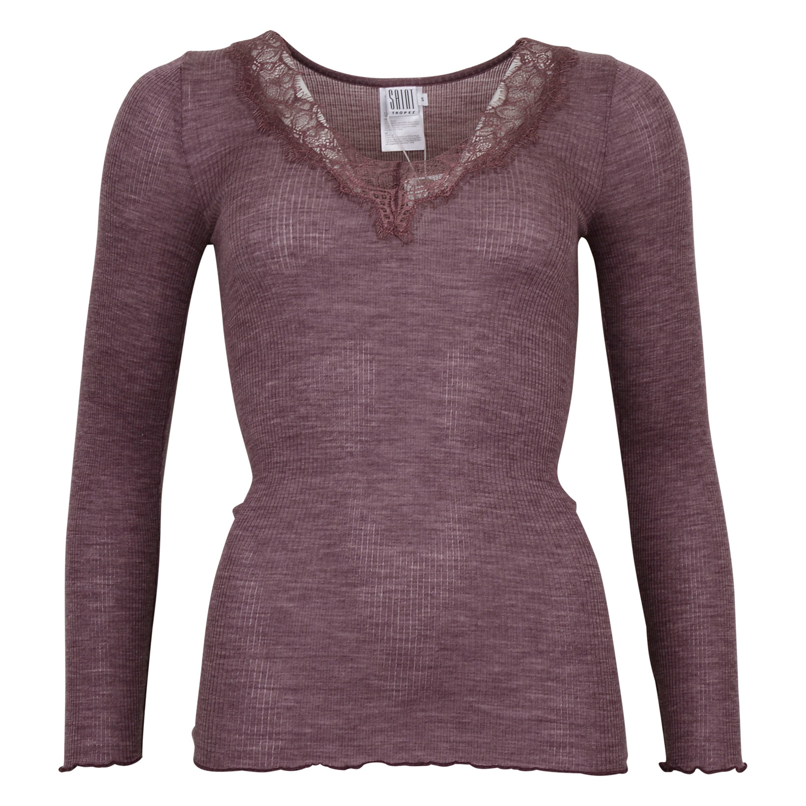 SAINT TROPEZ TOP W. LACE 7311 FLINT