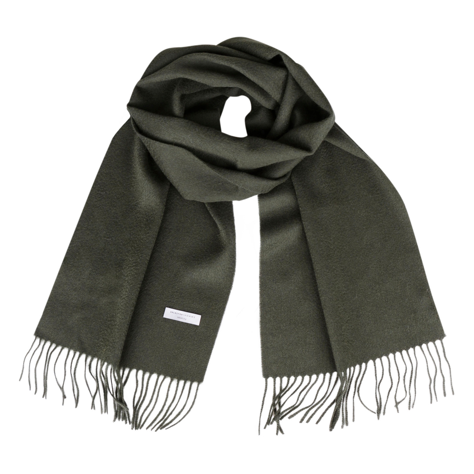 selected homme SLHTOPE WOOL SCARF