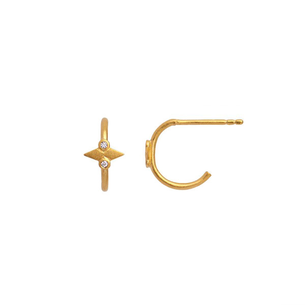 STINE A PETIT SPEER EARRING GOLD