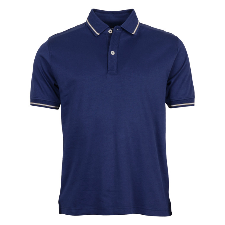 2BLIND2C PAISLEY POLO NAVY